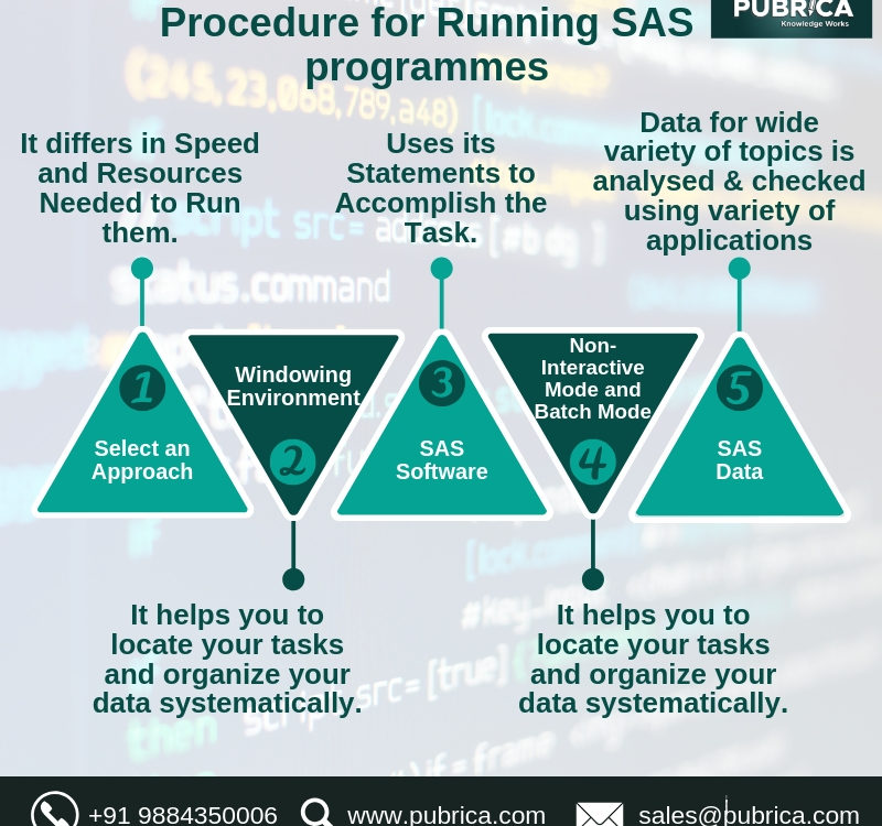Procedure for Running SAS programmes
